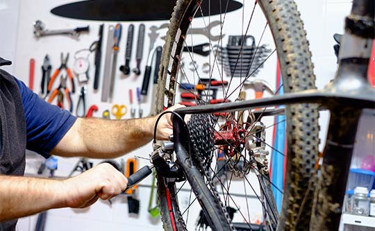 Sonoma county bike repair